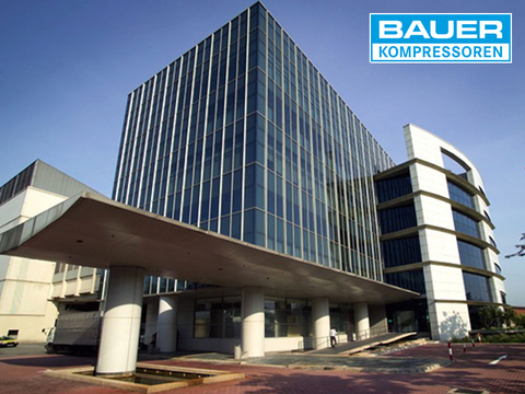 BAUER Asia office building